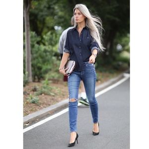 Paige | Verdugo Ultra Skinny Carmen Repair, 25